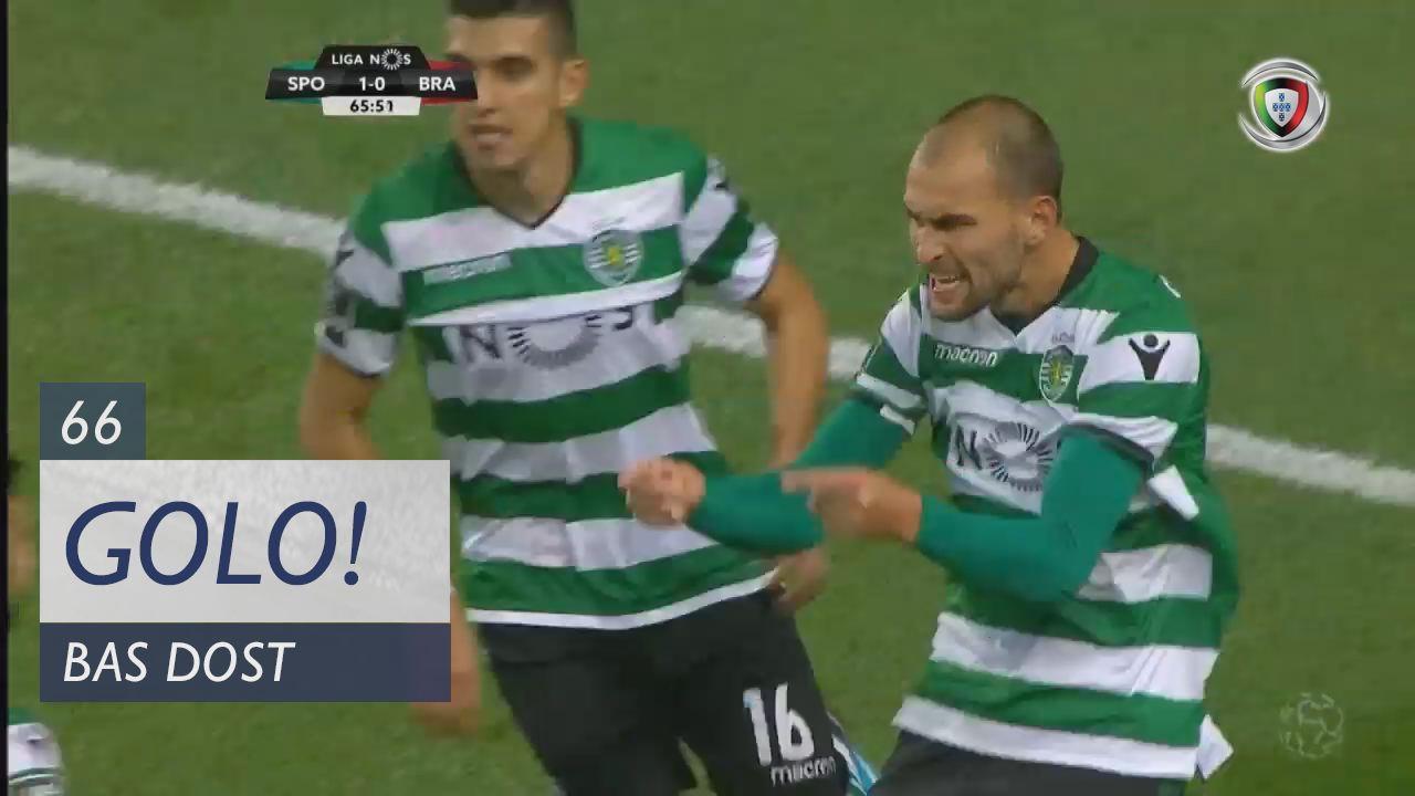 Sporting CP, Bas Dost aos 66', Sporting CP 1-0 SC Braga