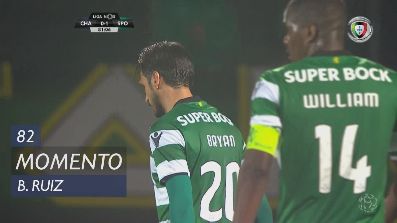 Sporting CP, Jogada, B. Ruiz aos 82'