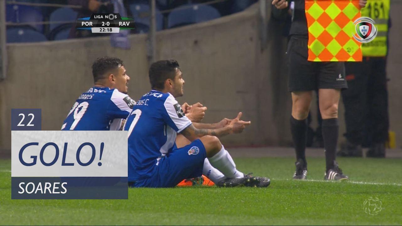 FC Porto, Soares aos 22', FC Porto 2-0 Rio Ave FC