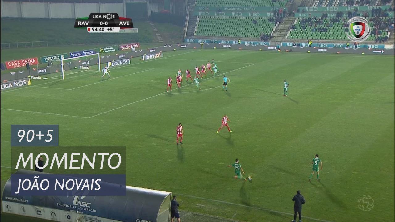 Rio Ave FC, Jogada, João Novais aos 90'+5'