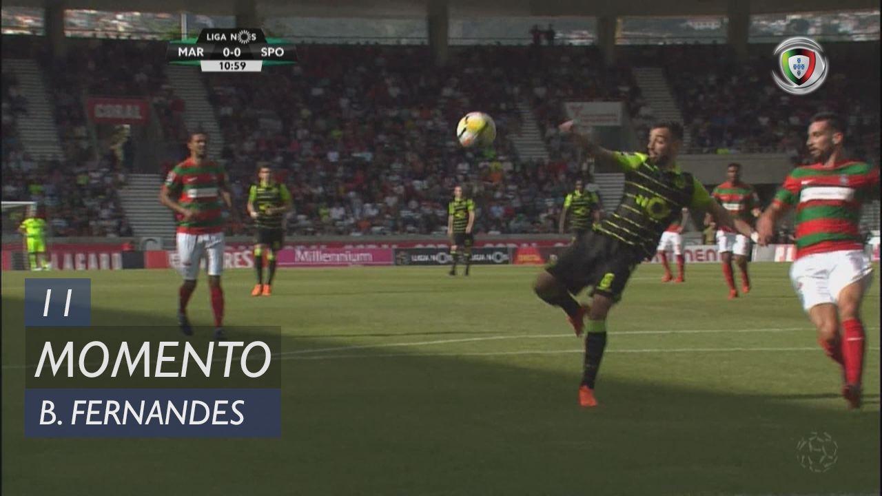 Sporting CP, Jogada, Bruno Fernandes aos 11'