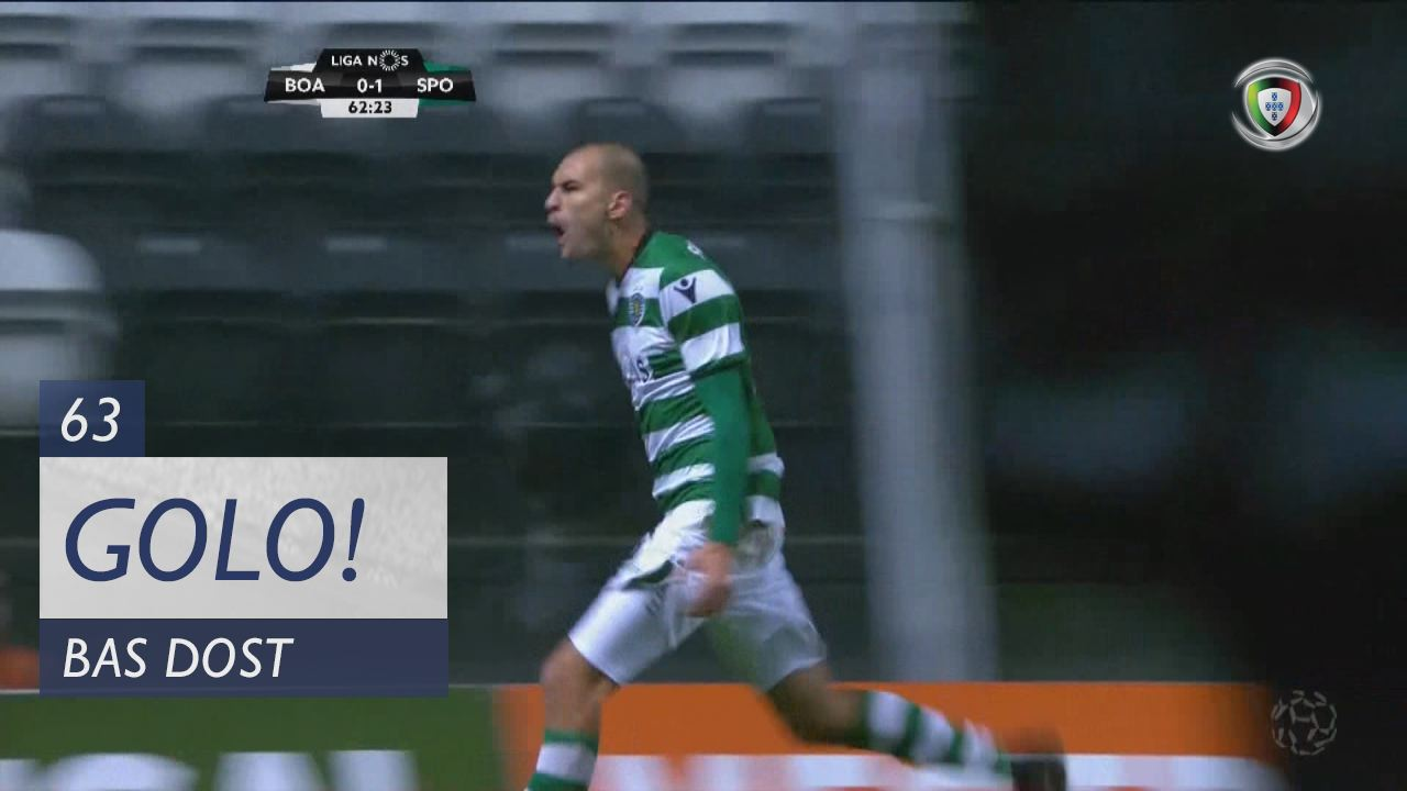 Sporting CP, Bas Dost aos 63', Boavista FC 0-2 Sporting CP