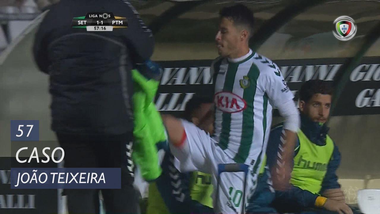Vitória FC, Caso, João Teixeira aos 57'