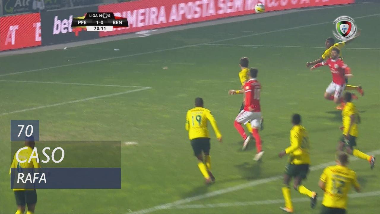 SL Benfica, Caso, Rafa aos 70'
