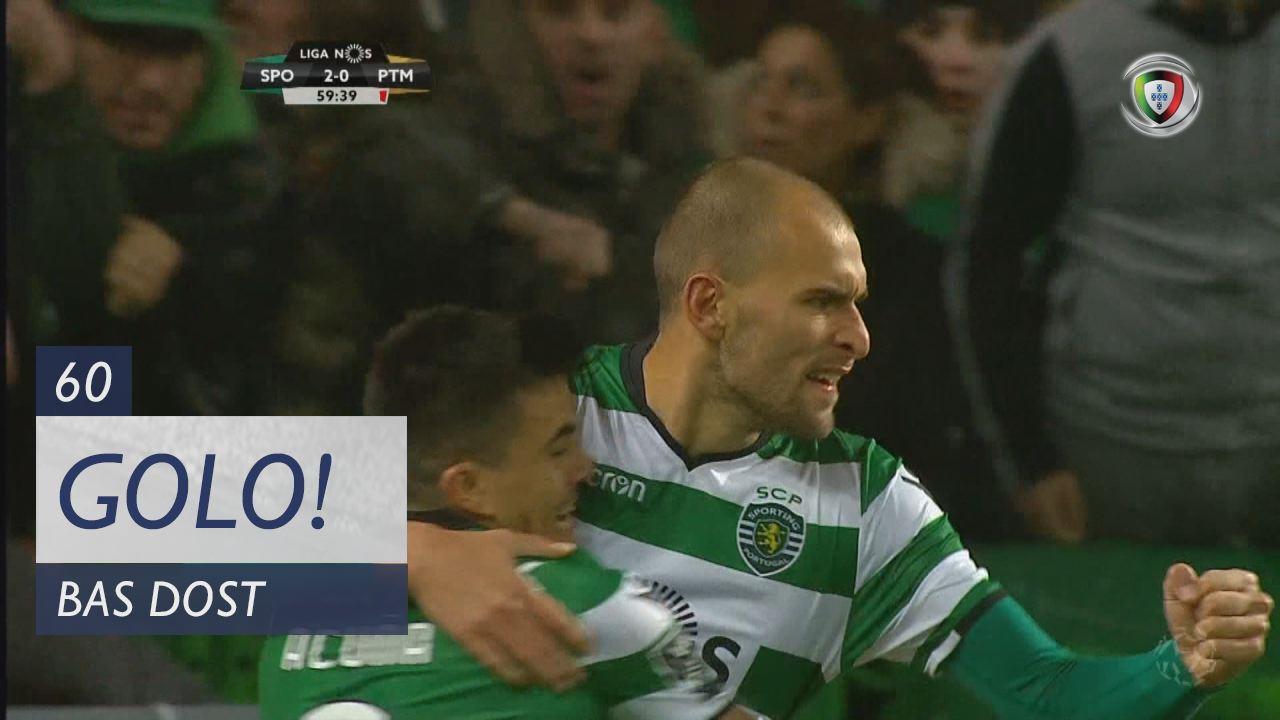 Sporting CP, Bas Dost aos 60', Sporting CP 2-0 Portimonense
