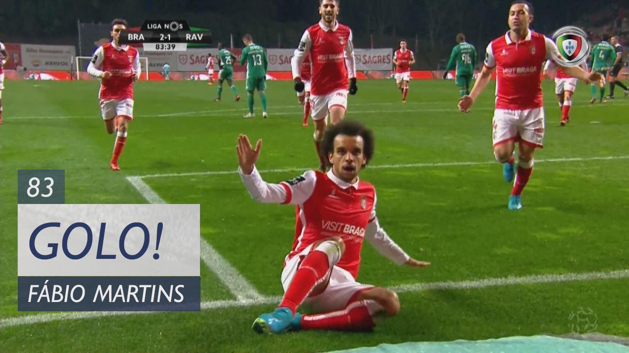 SC Braga, Fábio Martins aos 83', SC Braga 2-1 Rio Ave FC