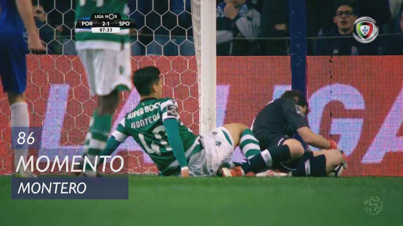 Sporting CP, Jogada, Montero aos 86'