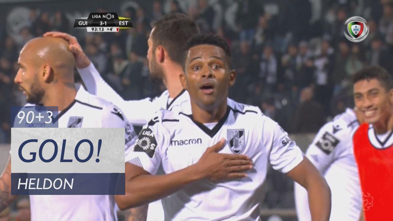Vitória SC, Heldon aos 90'+3', Vitória SC 3-1 Estoril Praia