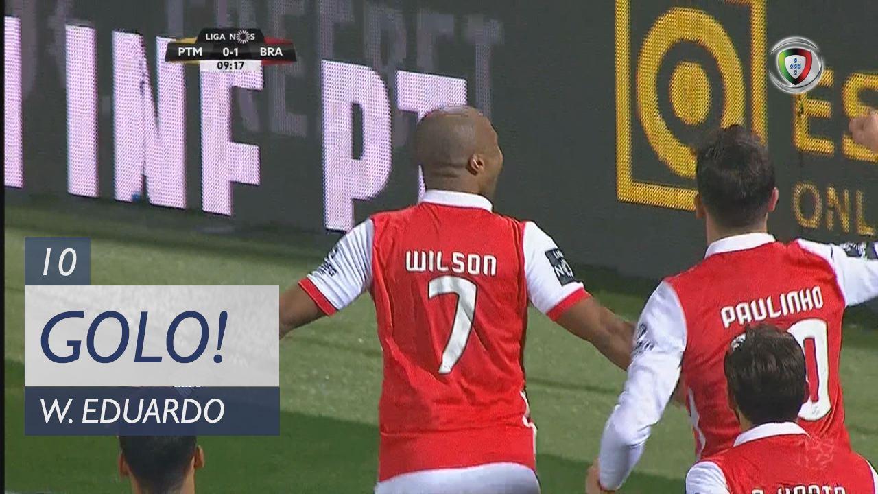 SC Braga, Wilson Eduardo aos 10', Portimonense 0-2 SC Braga