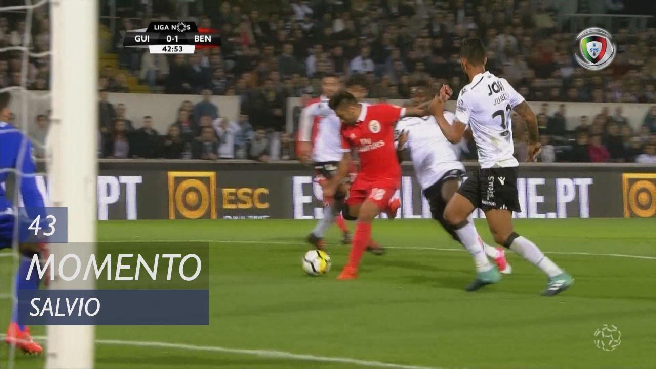 SL Benfica, Jogada, Salvio aos 43'