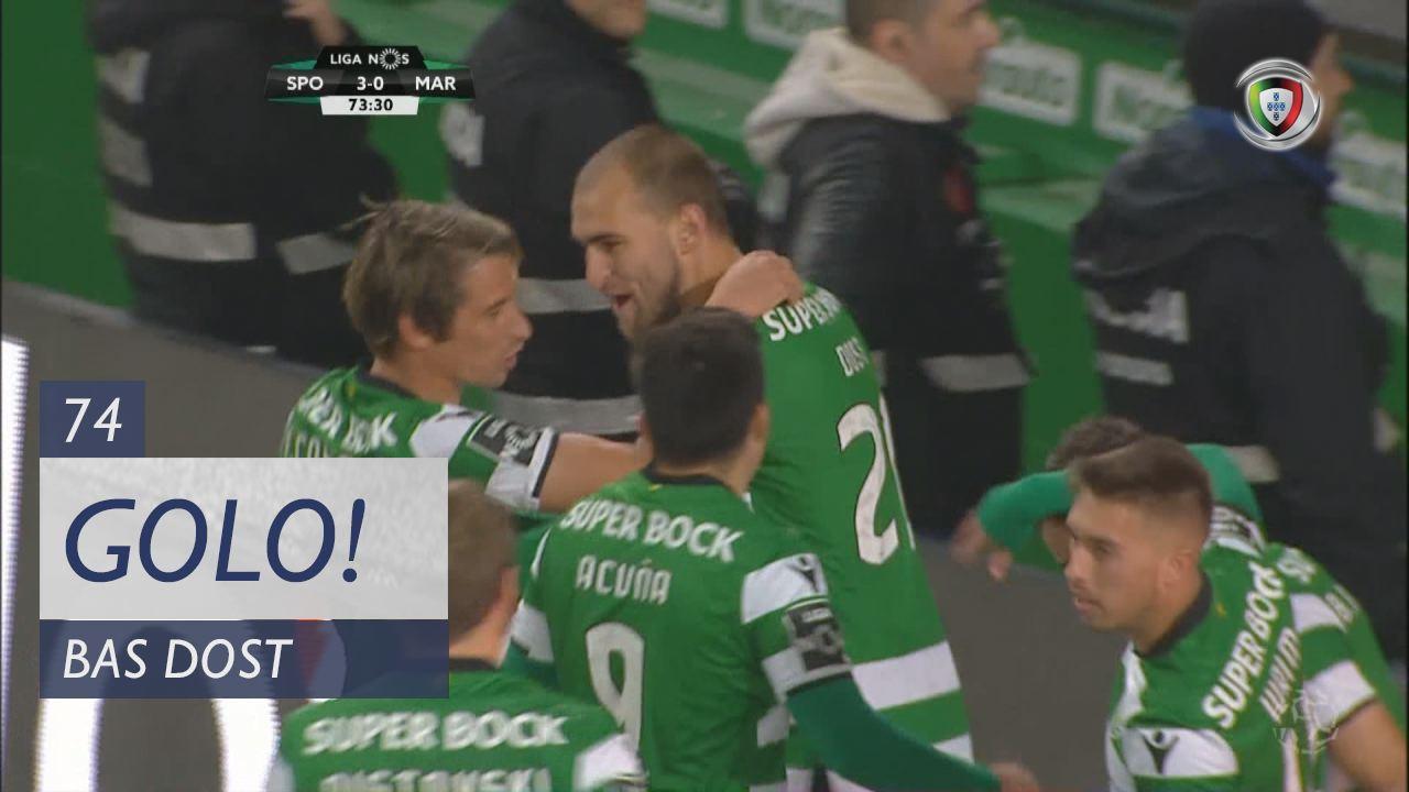 Sporting CP, Bas Dost aos 74', Sporting CP 3-0 Marítimo M.