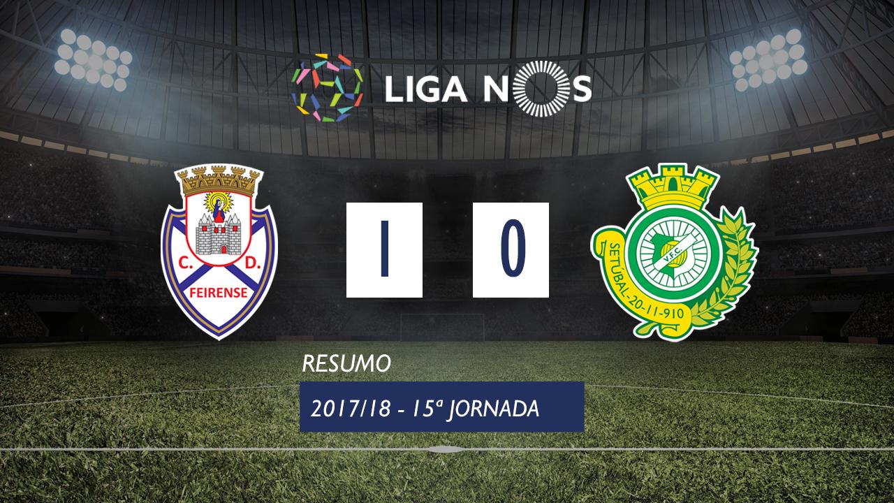 Feirense Setubal goals and highlights