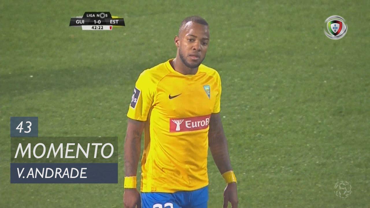 Estoril Praia, Jogada, Victor Andrade aos 43'