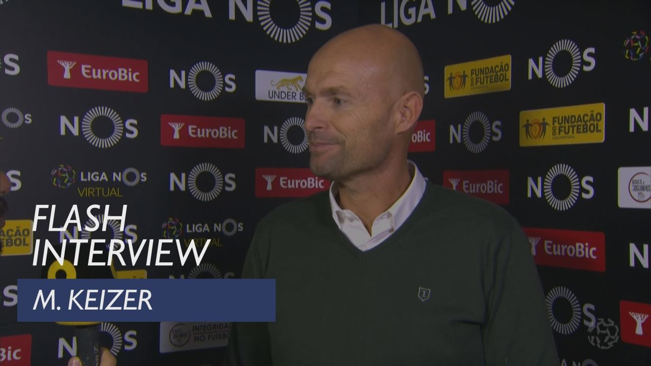 Liga (13ª): Flash interview M. Keizer
