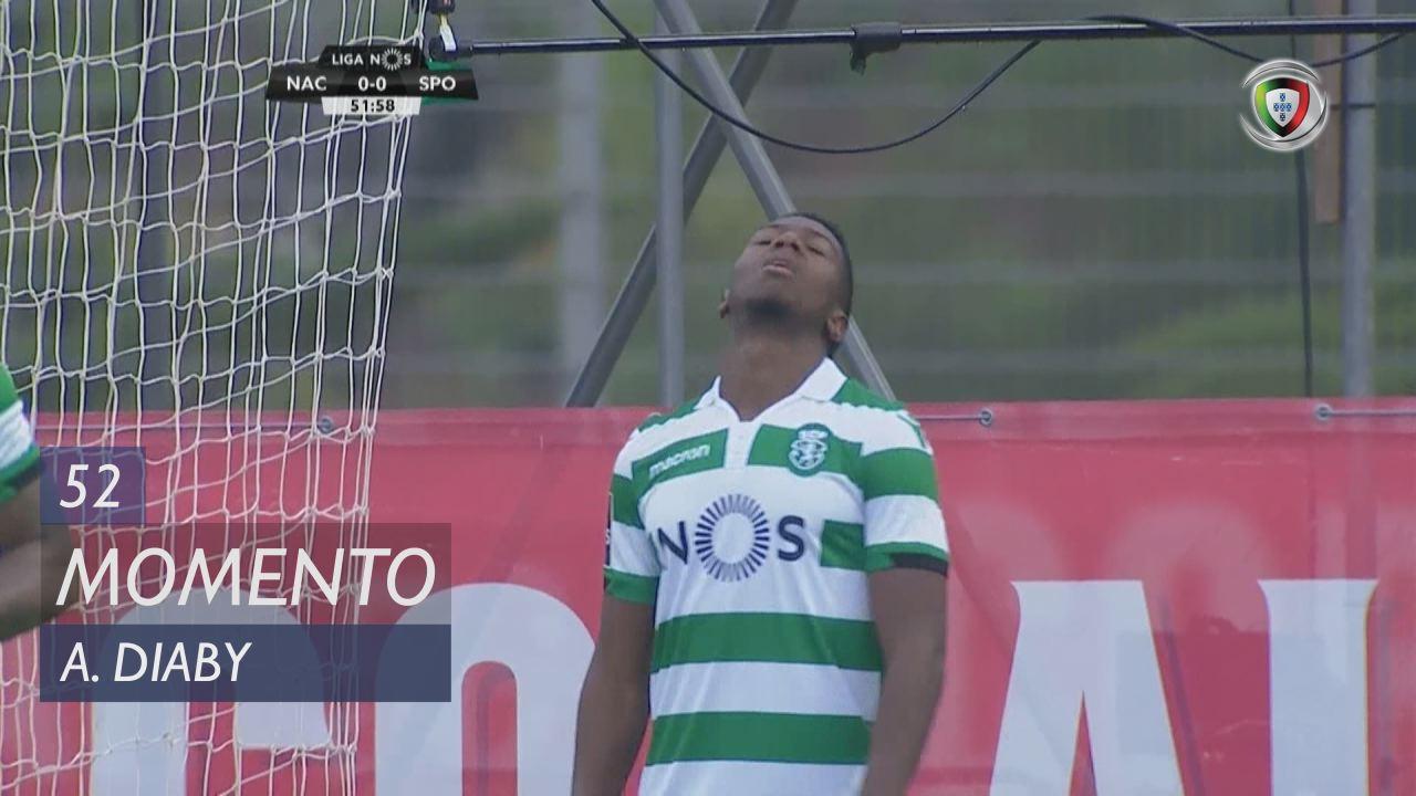 Sporting CP, Jogada, A. Diaby aos 52'