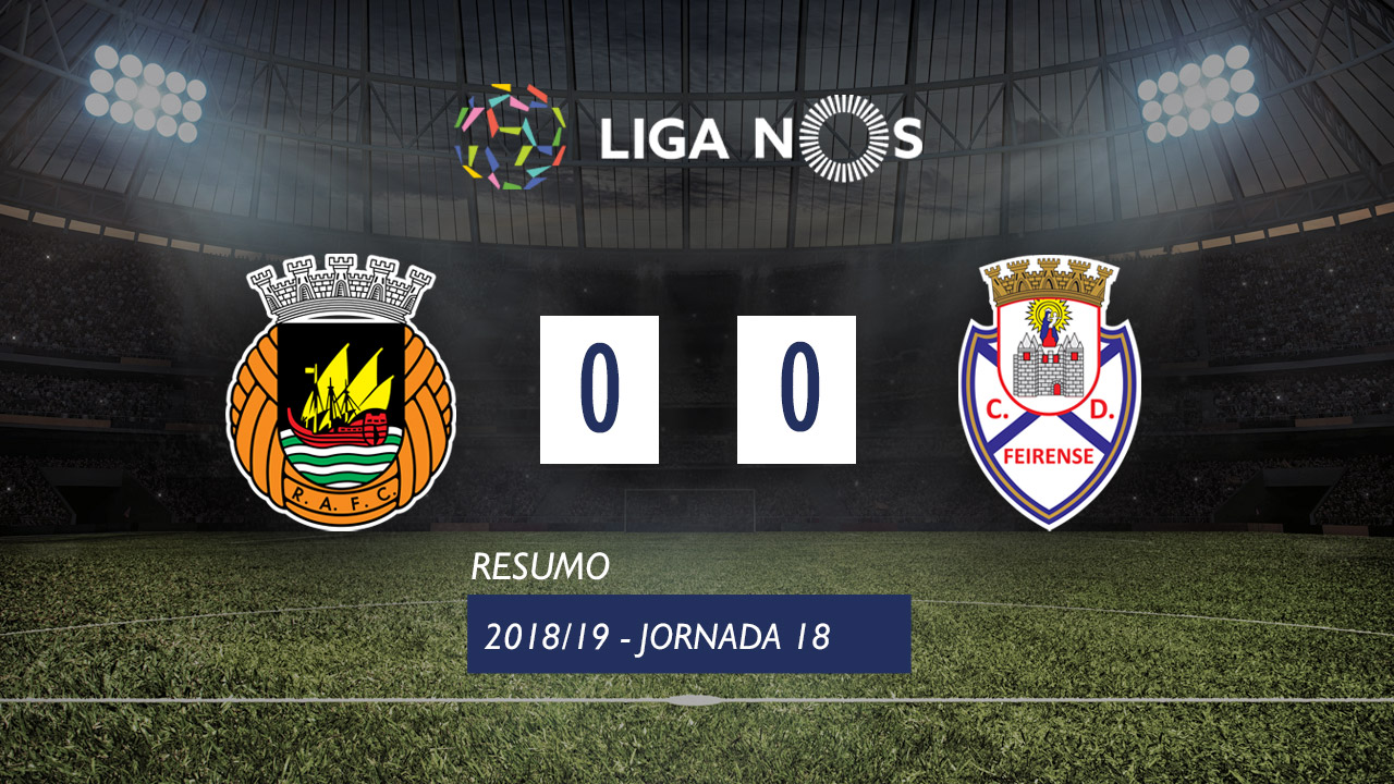 I Liga (18ªJ): Resumo Rio Ave FC 0-0 CD Feirense