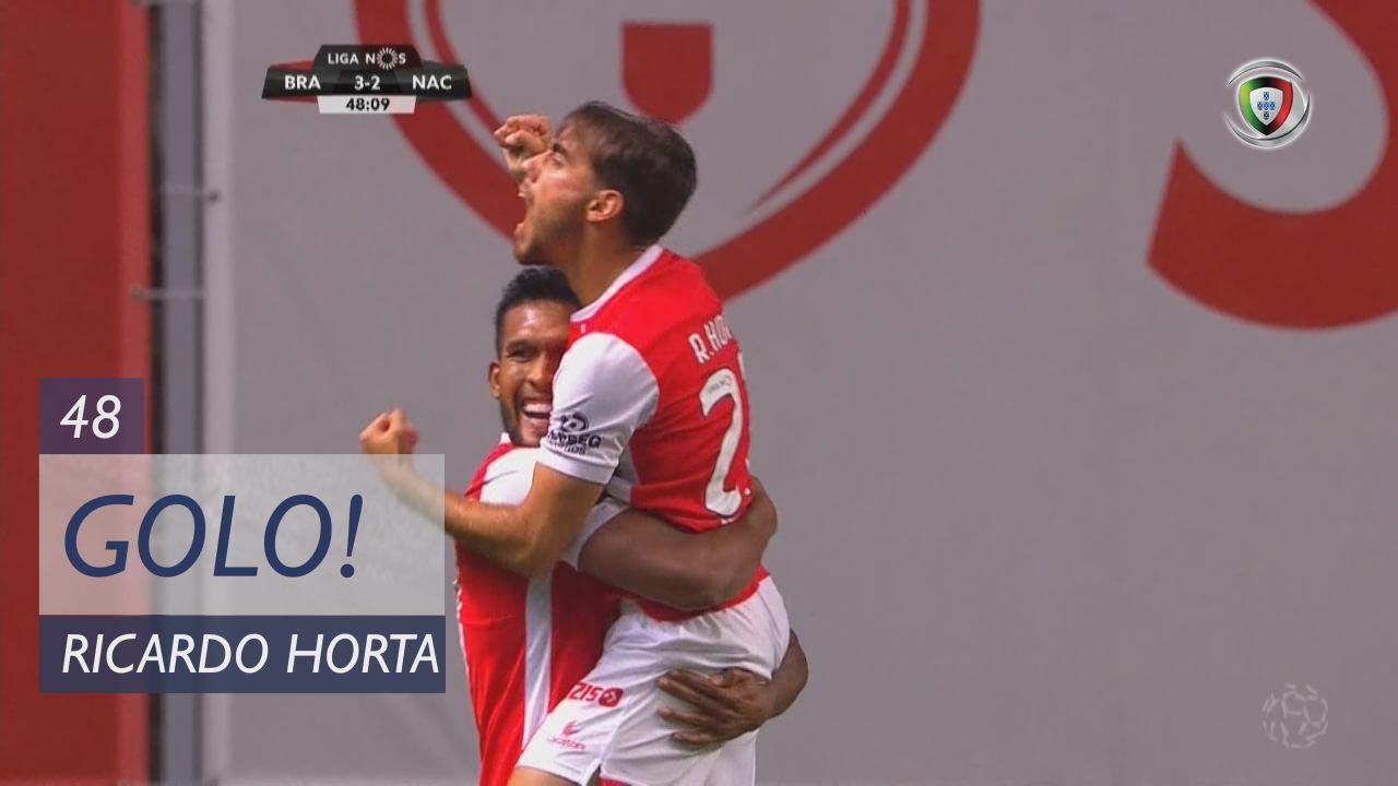GOLO! SC Braga, Ricardo Horta aos 48', SC Braga 3-2 CD Nacional