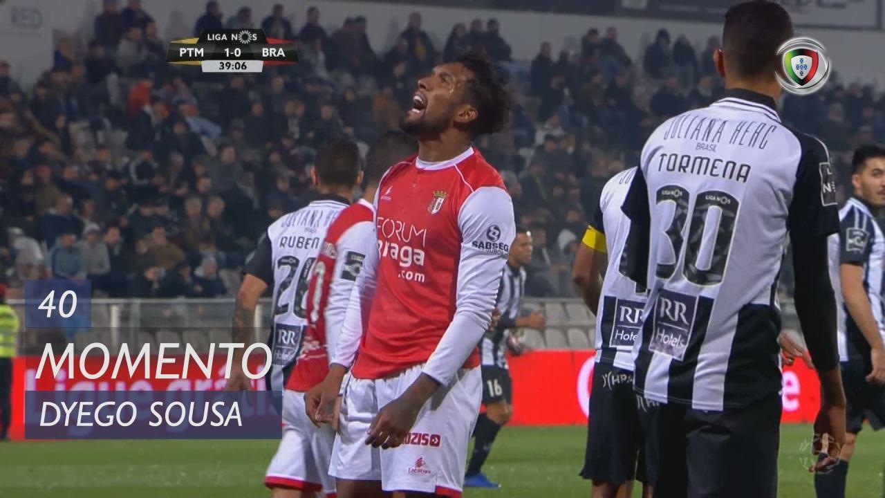 SC Braga, Jogada, Dyego Sousa aos 40'