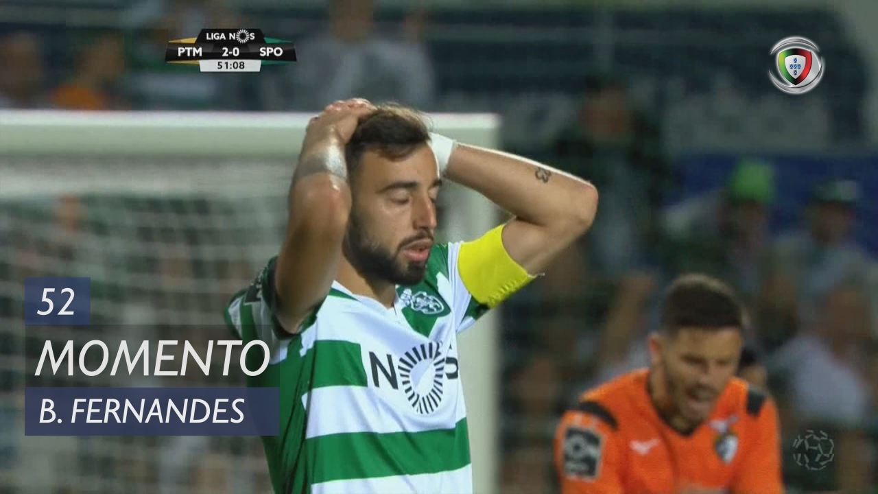 Sporting CP, Jogada, Bruno Fernandes aos 52'