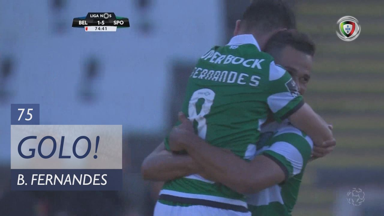 GOLO! Sporting CP, Bruno Fernandes aos 75', Os Bel...
