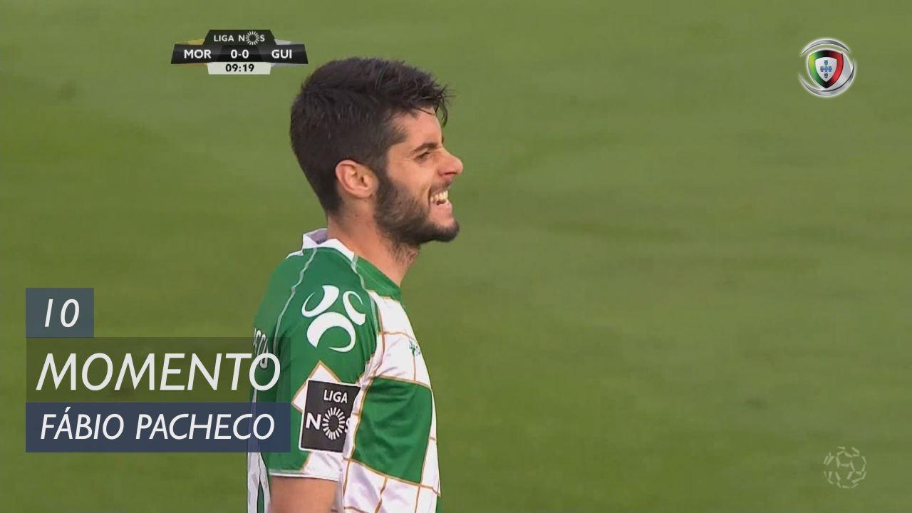 Moreirense FC, Jogada, Fábio Pacheco aos 10'