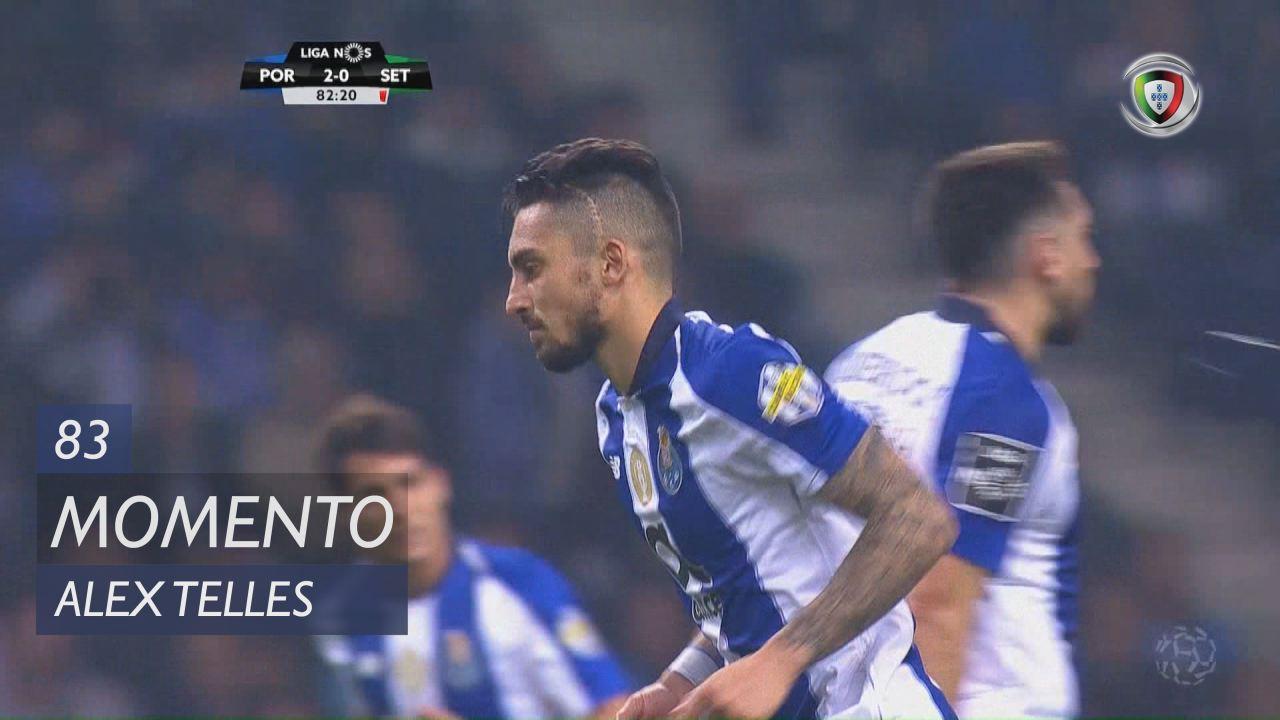 FC Porto, Jogada, Alex Telles aos 83'