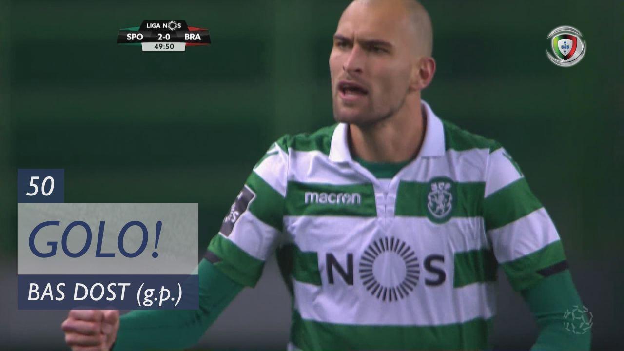 GOLO! Sporting CP, Bas Dost aos 50', Sporting CP 2-0 SC Braga
