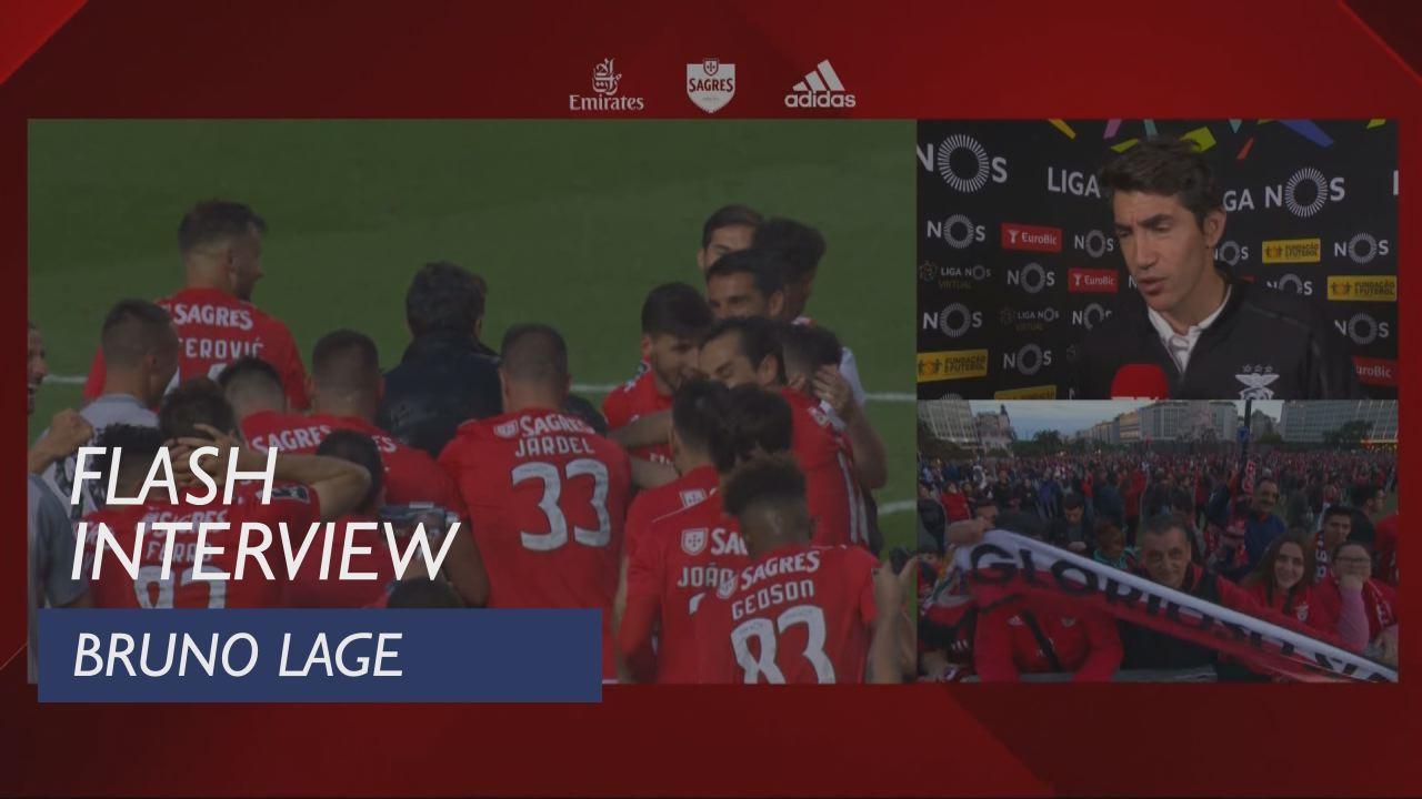 Liga (34ª): Flash Interview Bruno Lage