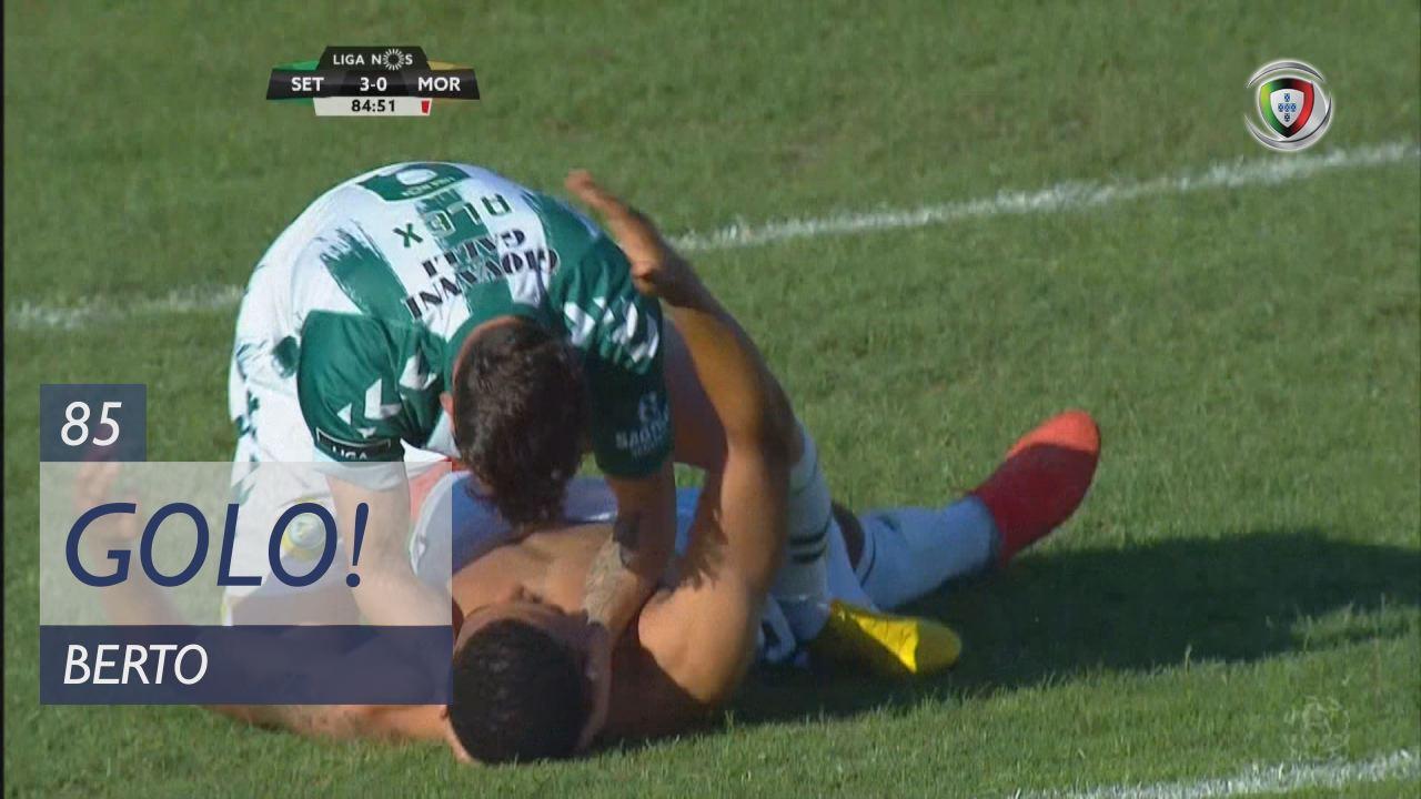 GOLO! Vitória FC, Berto aos 85', Vitória FC 3-0 Moreirense FC