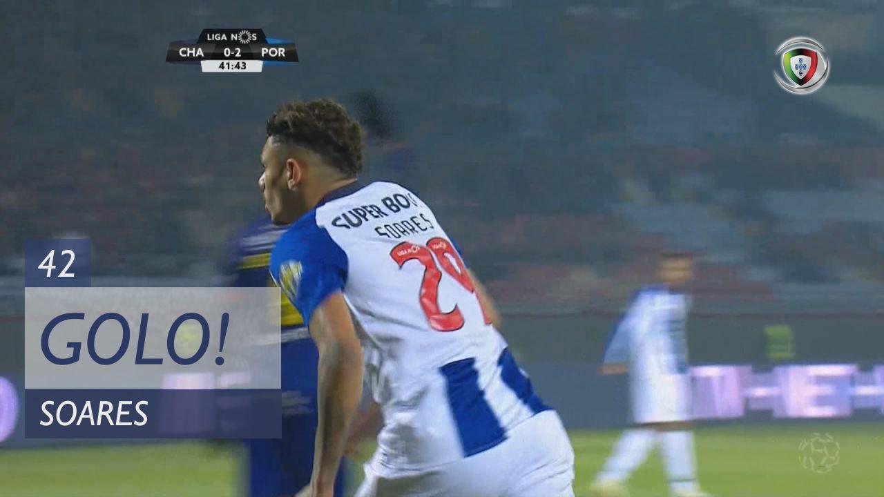GOLO! FC Porto, Soares aos 42', GD Chaves 0-2 FC Porto