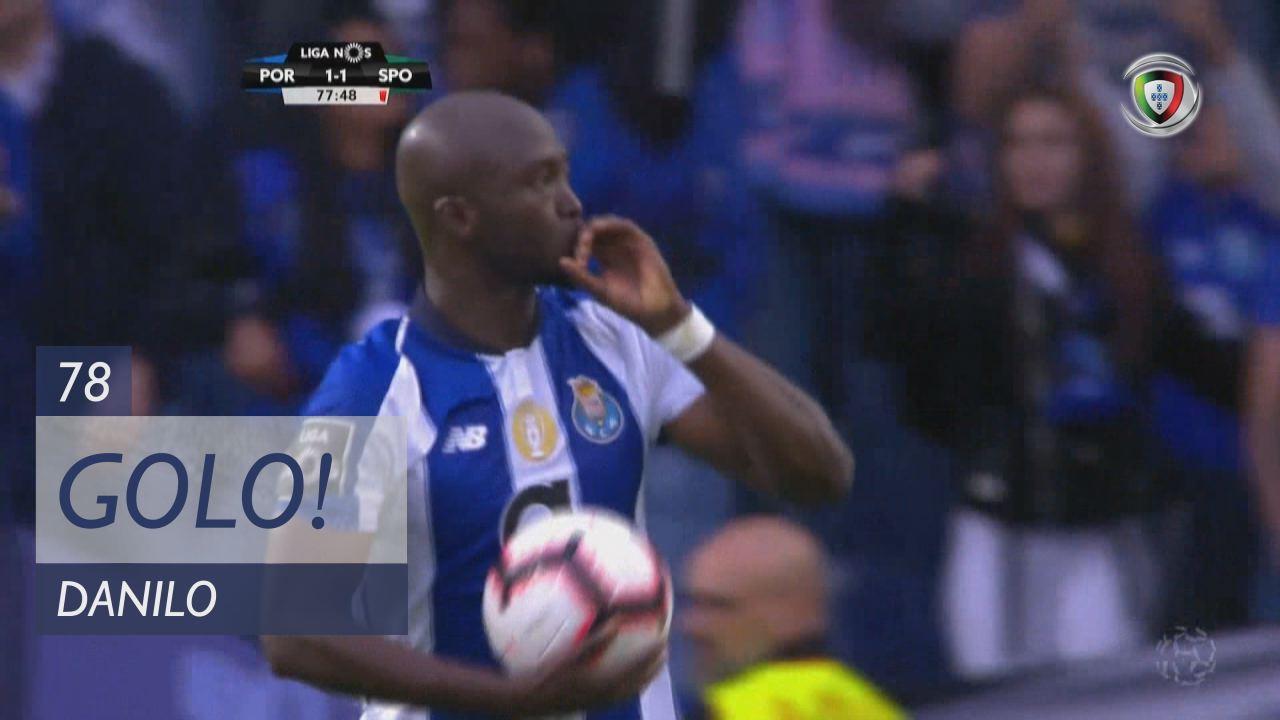 GOLO! FC Porto, Danilo aos 78', FC Porto 1-1 Sporting CP