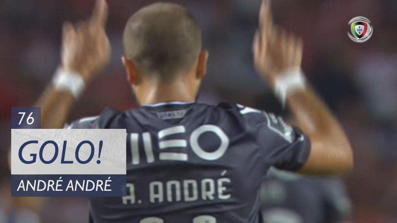 GOLO! Vitória SC, André André aos 76', SL Benfica 3-1 Vitória SC