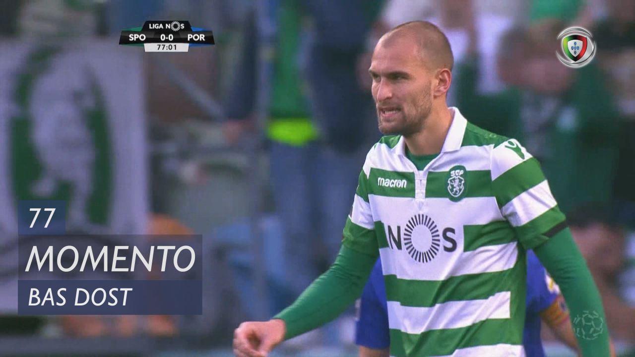 Sporting CP, Jogada, Bas Dost aos 77'