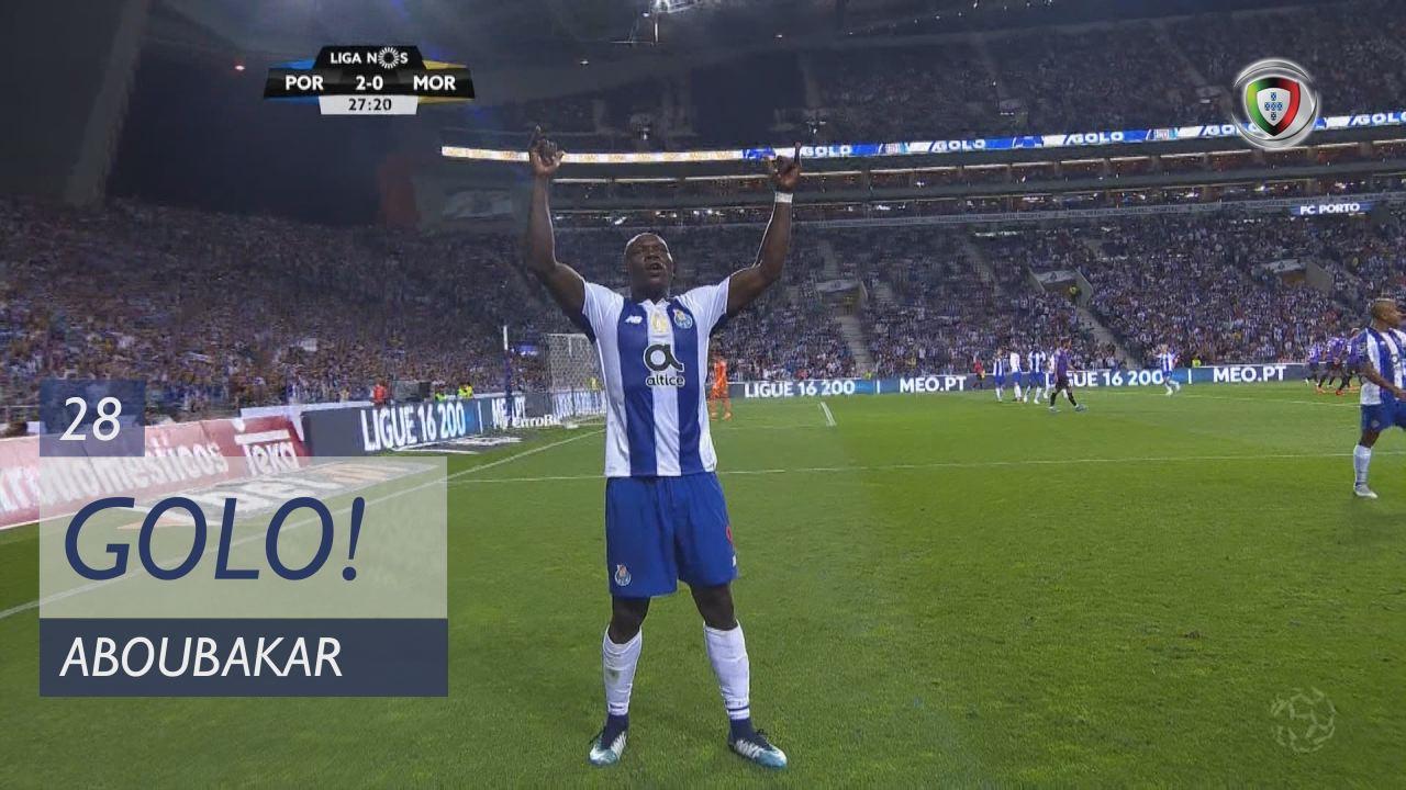 GOLO! FC Porto, Aboubakar aos 28', FC Porto 2-0 Moreirense FC