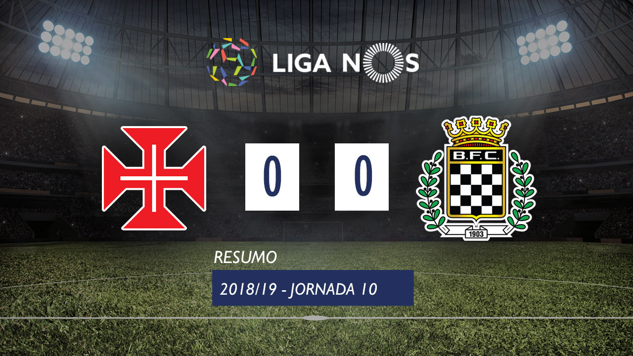 Liga NOS (10ªJ): Resumo Belenenses 0-0 Boavista FC