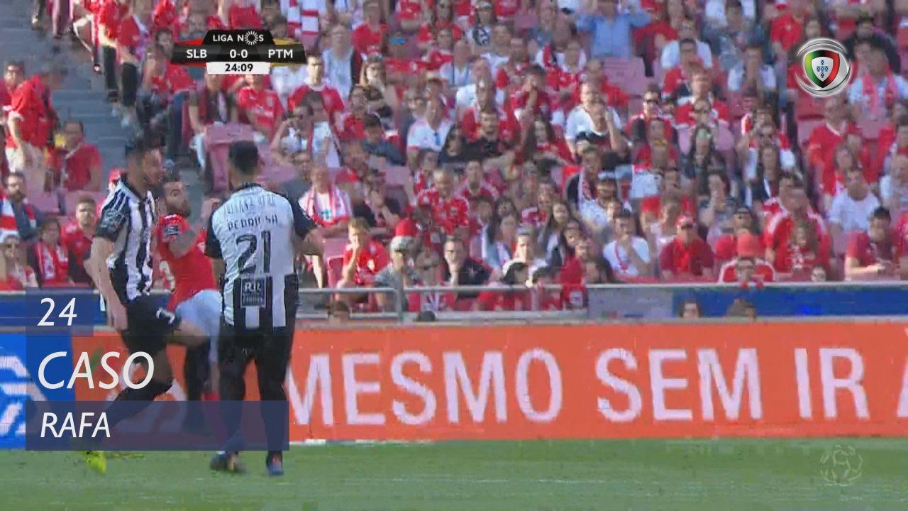 SL Benfica, Caso, Rafa aos 24'