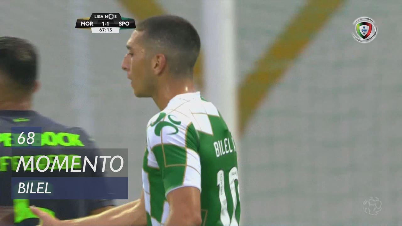 Moreirense FC, Jogada, Bilel aos 68'