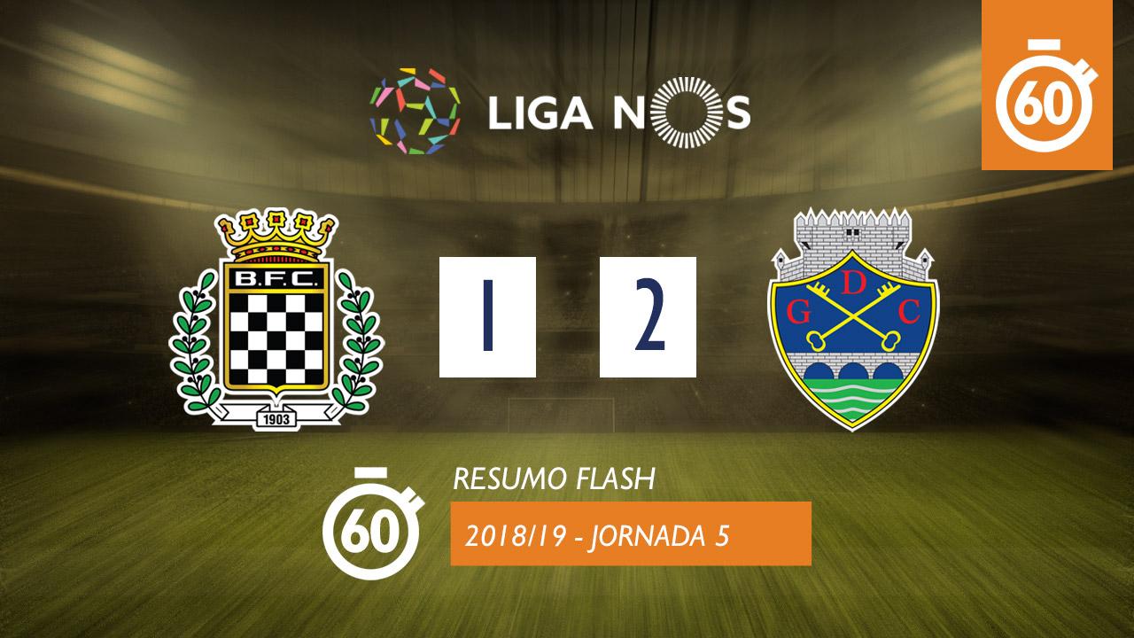 I Liga (5ªJ): Resumo Flash Boavista FC 1-2 GD Chaves