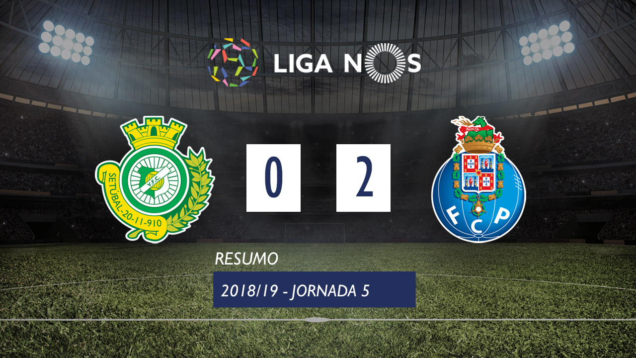 I Liga (5ªJ): Resumo Vitória FC 0-2 FC Porto