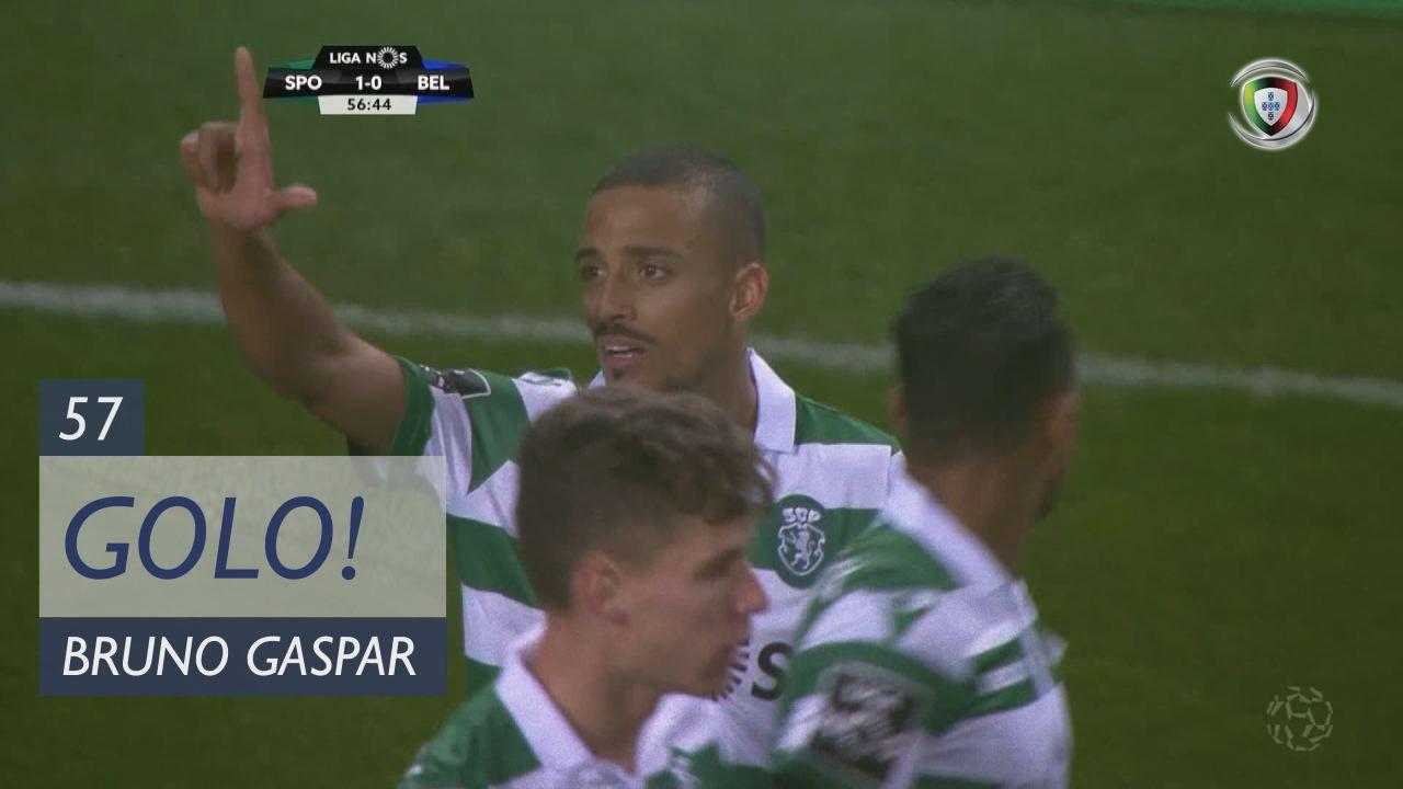 GOLO! Sporting CP, Bruno Gaspar aos 57', Sporting CP 1-0 Os Belenenses