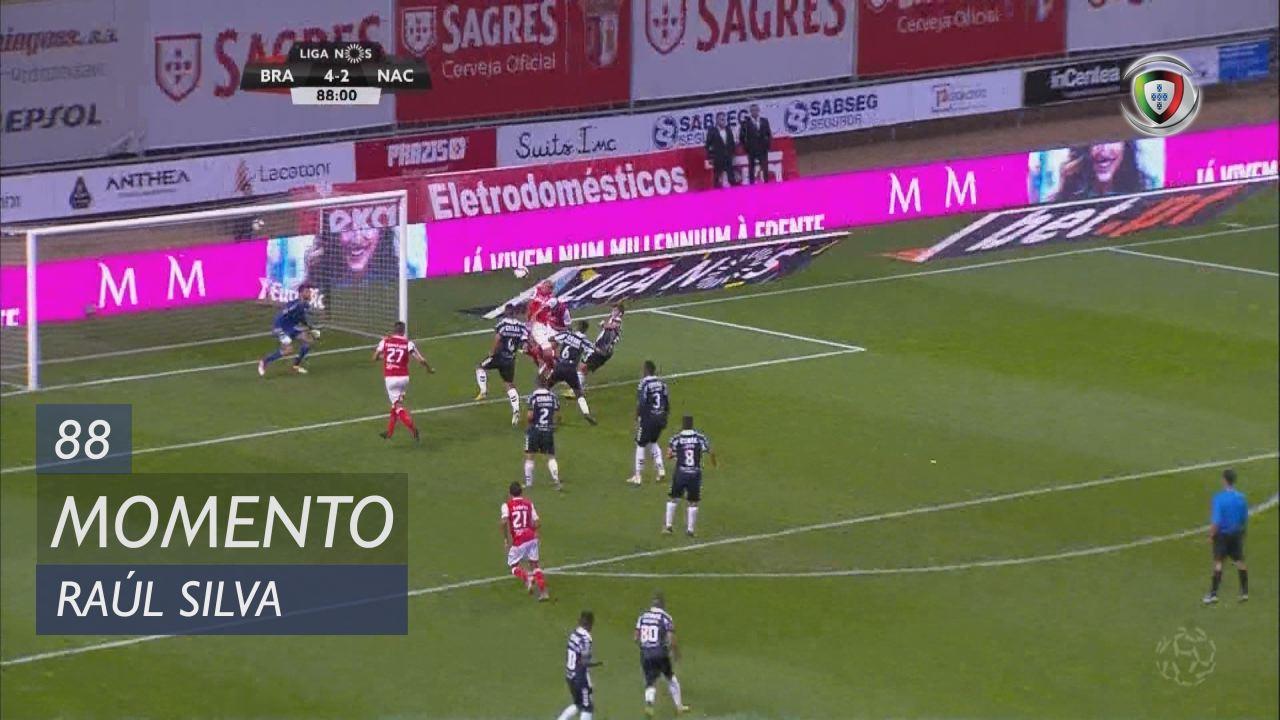 SC Braga, Jogada, Raúl Silva aos 88'