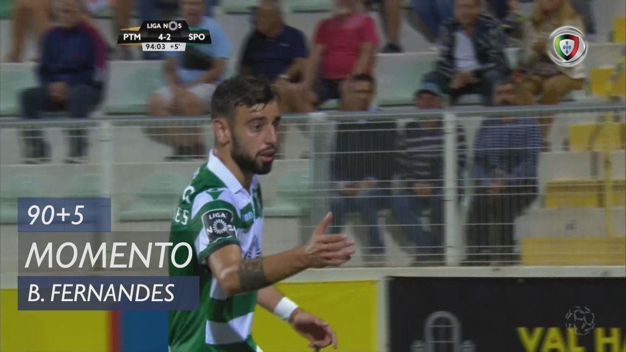 Sporting CP, Jogada, Bruno Fernandes aos 90'+5'