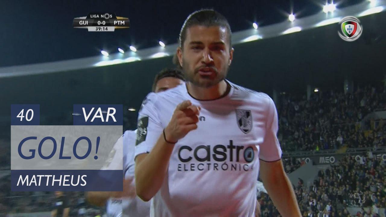 GOLO! Vitória SC, Mattheus aos 40', Vitória SC 1-0 Portimonense