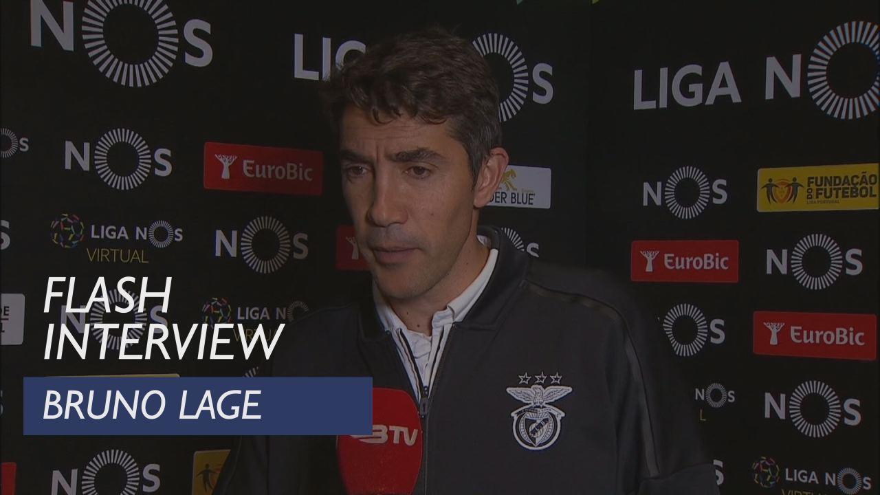 Liga (29ª): Flash Interview Bruno Lage