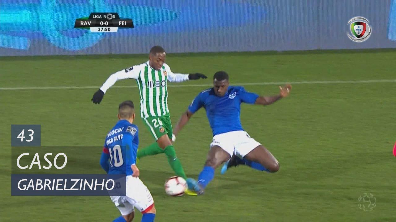 Rio Ave FC, Caso, Gabrielzinho aos 43'