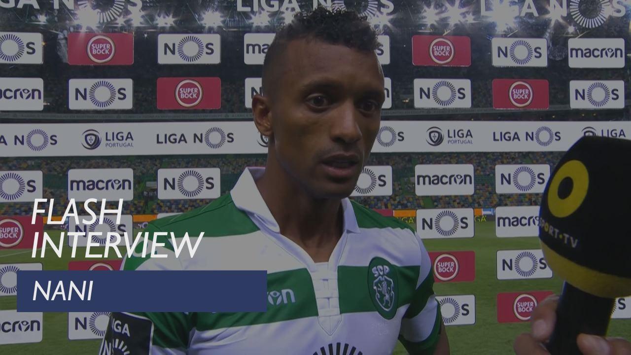 Liga (2ª): Flash interview Nani