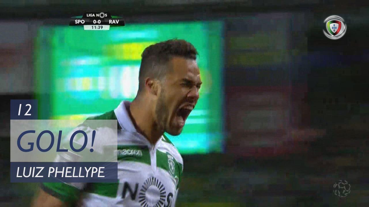 GOLO! Sporting CP, Luiz Phellype aos 12', Sporting CP 1-0 Rio Ave FC
