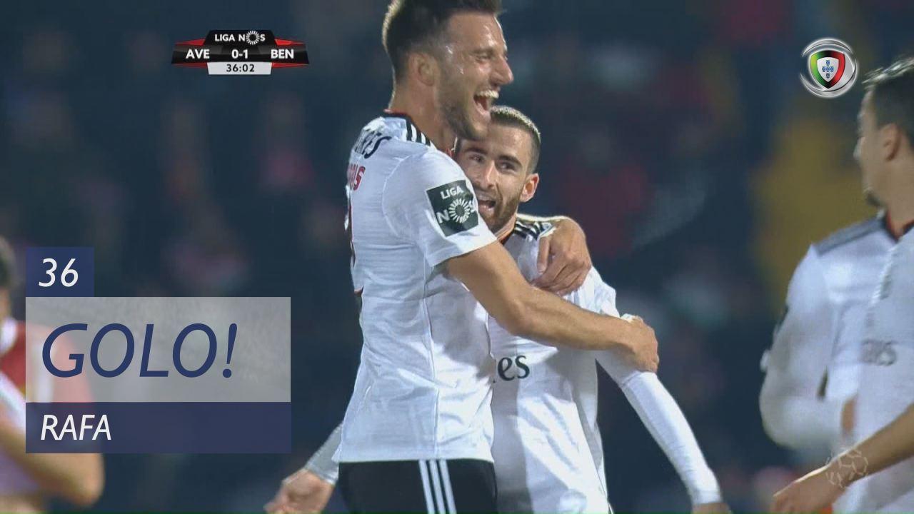 GOLO! SL Benfica, Rafa aos 36', CD Aves 0-2 SL Benfica