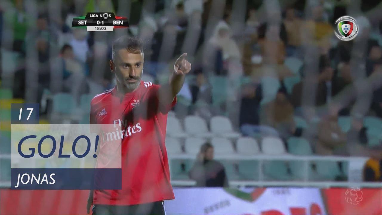 GOLO! SL Benfica, Jonas aos 17', Vitória FC 0-1 SL Benfica