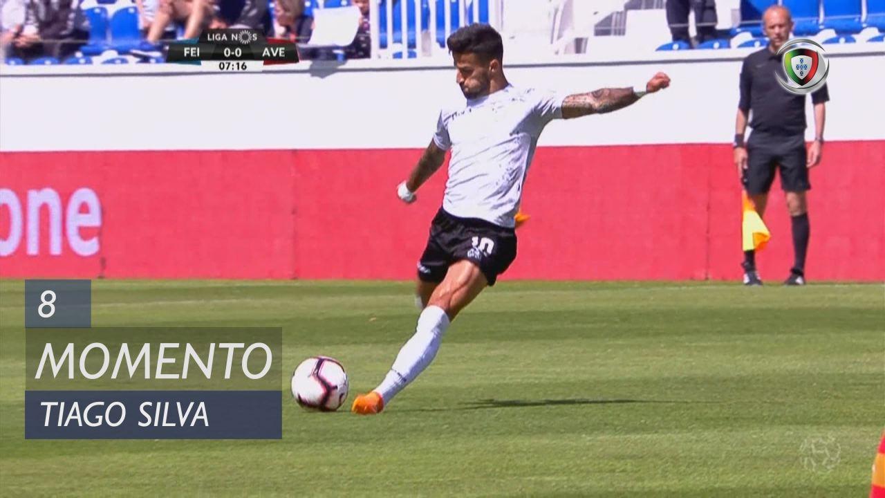 CD Feirense, Jogada, Tiago Silva aos 8'